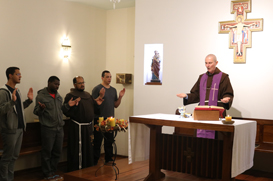 Frades do tempo da Teologia fazem retiro anual em Petrópolis