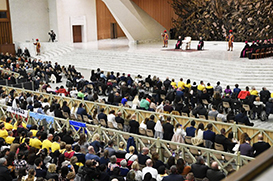 Bem-aventuranças: novo ciclo de catequeses do Papa Francisco