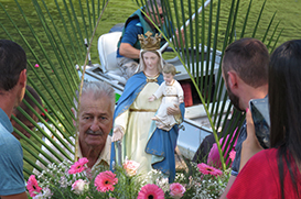Comunidade de Barra do Chapecozinho celebra Nossa Senhora dos Navegantes