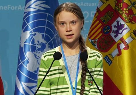 """""""Como vocês explicarão aos seus filhos que desistiram?"""". Discurso de Greta Thunberg em Davos"""