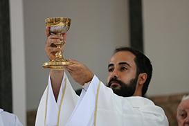 Frei Gabriel inicia o seu ministério presbiteral