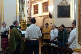 Fraternidade das Chagas de São Francisco celebra chegada de novos irmãos
