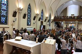 Franciscanos deixam Não-Me-Toque depois de 101 anos de presença