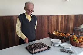 Frei Gregório celebra 60 anos de sua vestição religiosa