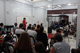 Paróquia Santa Clara de Imbariê se encontra para formação sobre a CF2020