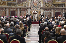Papa: a misericórdia não é a suspensão da justiça