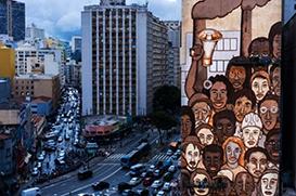 Grafite em São Paulo homenageia vítimas de Brumadinho