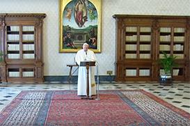 Papa concede indulgência plenária para a oração de 27 de março