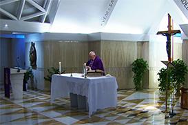 Papa agradece às pessoas que se preocupam com quem está em dificuldade