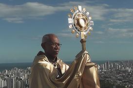 Bênção do Santíssimo pelo fim da pandemia no Convento da Penha