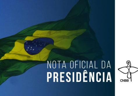 Posicionamento da CNBB em defesa da democracia, pela justiça e pela paz!