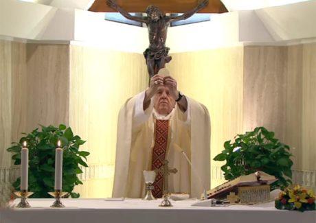 Papa: o Senhor dê prudência a seu povo diante da pandemia