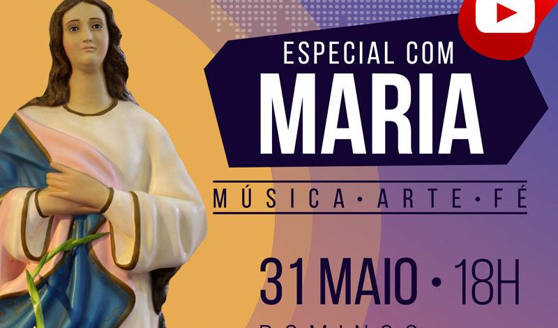 Vem aí: #LiveMariana