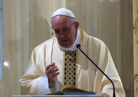 Papa: que haja paz nas famílias e unidade na Igreja