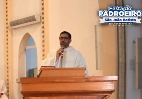 """Festa do Padroeiro de São João de Meriti: """"A missão da Igreja é apontar o Salvador"""""""