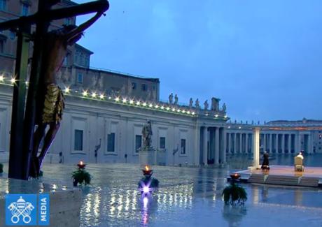 A esperança de Francisco: da oração na Praça vazia ao Terço nos Jardins do Vaticano