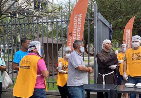 Luta contra a fome fortalece ação franciscana no Rio de Janeiro