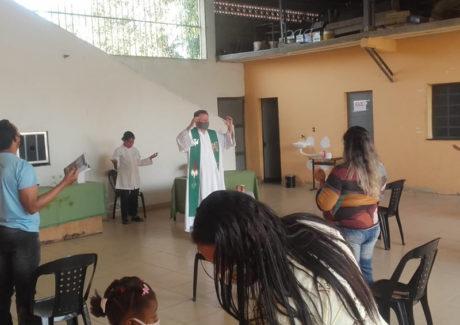 Retorno das celebrações na Paróquia Santa Clara de Imbariê