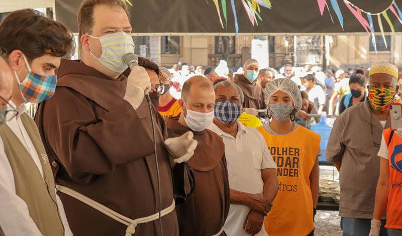 Tenda Franciscana chega a meio milhão de refeições distribuídas
