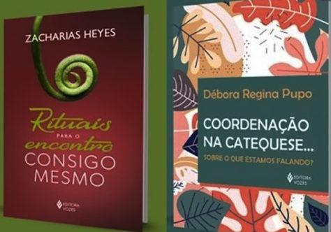 Zacharias Heyes entre os lançamentos da Editora Vozes