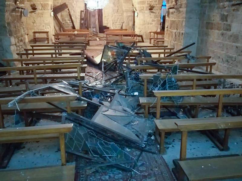 [O testemunho dos Frades da Custódia da Terra Santa sobre as explosões em Beirute]