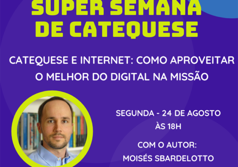 Vozes celebra o Dia do Catequista com Super Semana de lives