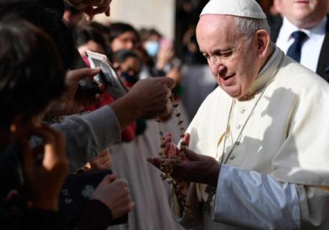 """Papa: """"Na normalidade do Reino de Deus o pão chega a todos"""""""