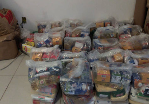 Ação solidária arrecada 500 kg de alimentos para comunidades carentes de Lages