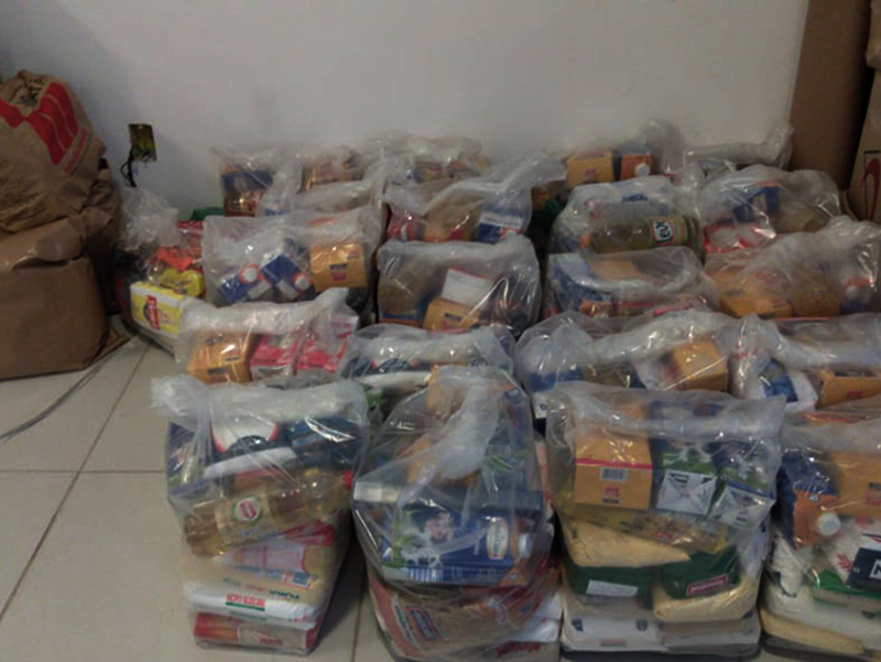 [Ação solidária arrecada 500 kg de alimentos para comunidades carentes de Lages]