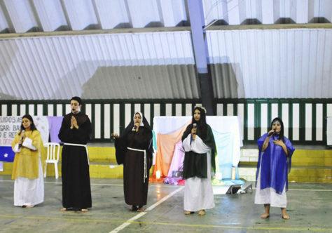 Jovens franciscanos de Lages participam do Grito dos Excluídos