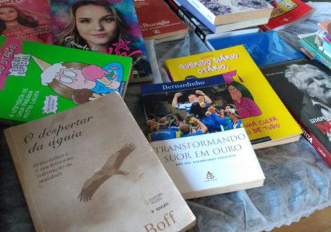 """Ação """"Livros que Alimentam"""" acontece neste fim de semana"""
