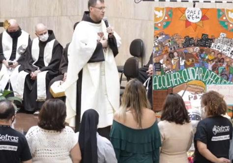 """""""São Francisco de Assis é nossa inspiração"""", diz o Ministro Provincial na festa dos 20 anos do Sefras"""