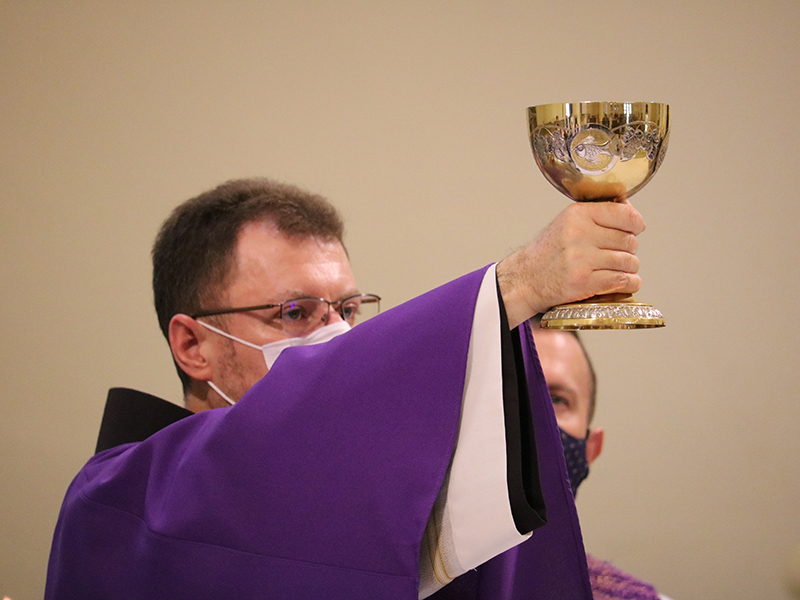 [Frei César celebra 25 anos de sacerdócio e renova o compromisso de fazer Deus a centralidade de sua vida]