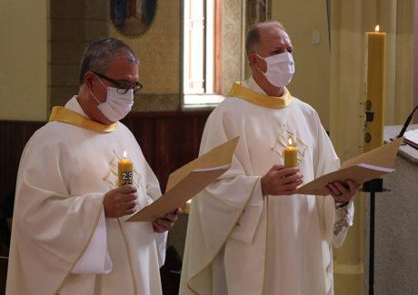 Frei Ivo e Frei Marcos marcam a Solenidade da Imaculada com seus jubileus