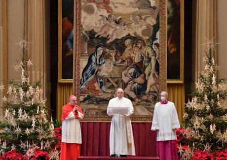 Papa: Jesus nasce para todos, não só para alguns