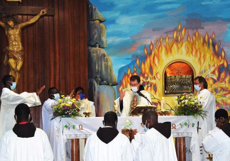 Ministro Provincial celebra jubileus e encerra Visita Canônica em Angola