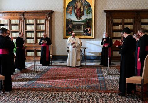 """Papa: """"É essencial que os cristãos continuem o caminho rumo à unidade plena e visível"""""""