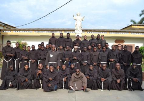 Conversão é tema do Retiro Quaresmal dos Frades de profissão temporária de Angola