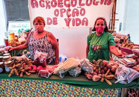 Alimentos saudáveis e sem agrotóxicos são vendidos na Paróquia Senhor Bom Jesus dos Perdões