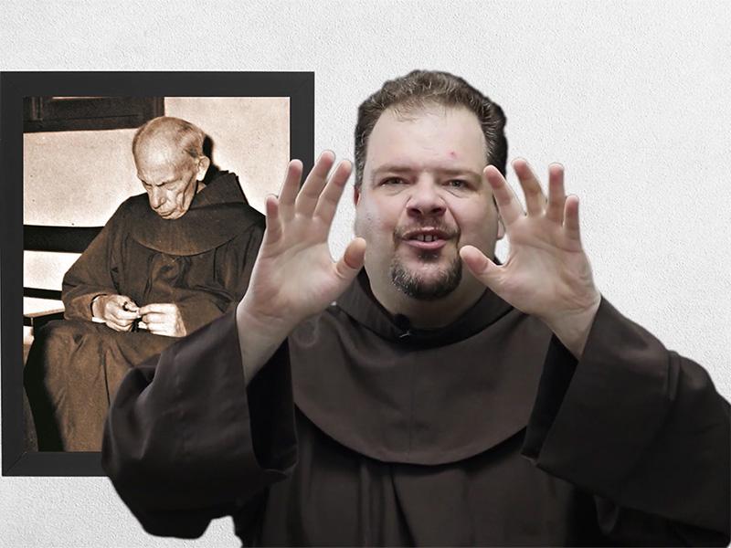 [Vigário Provincial encerra a Novena Virtual Frei Bruno]
