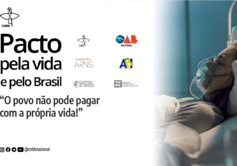 """""""É hora de estancar a escalada da morte!"""" cobram entidades signatárias do Pacto pela Vida e pelo Brasil"""