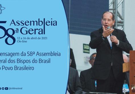 CNBB divulga mensagem ao povo brasileiro aprovada pelos bispos reunidos em assembleia