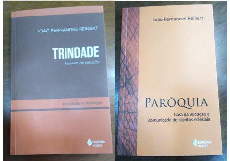 """Frei João lança os livros: """"Paróquia: casa da iniciação e comunidade de sujeitos eclesiais"""" e """"Trindade: mistério de relação"""""""