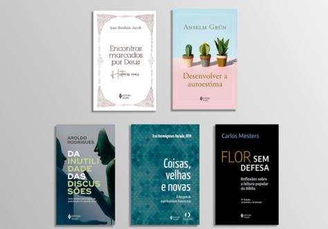 Grün, Mesters, Harada, Iran Jacob e Aroldo Rodrigues nos lançamentos da Vozes