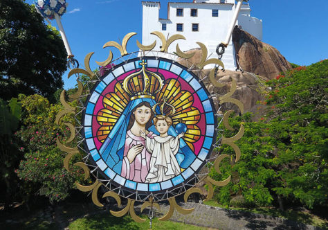 A programação mariana no Convento da Penha