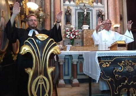 """Pastor Stefan prega no Convento da Penha: """"Somos encorajados a vencer as perseguições"""""""