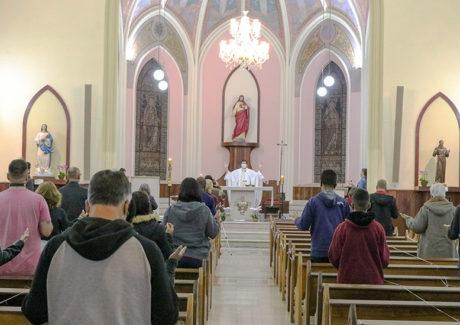 Celebração do Ano Jubilar recorda os primeiros 25 anos da Igreja do Sagrado