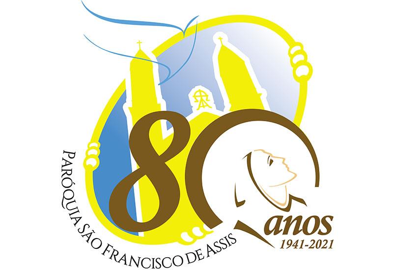 """[Paróquia São Francisco de Assis faz 80 anos e reforça sua """"vocação hospitalar""""]"""