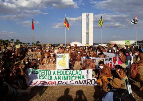 Mobilização indígena: presidência da CNBB expressa apoio e pede respeito aos povos indígenas