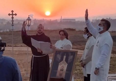 Primeira Celebração do Perdão de Assis no Santuário Frei Galvão